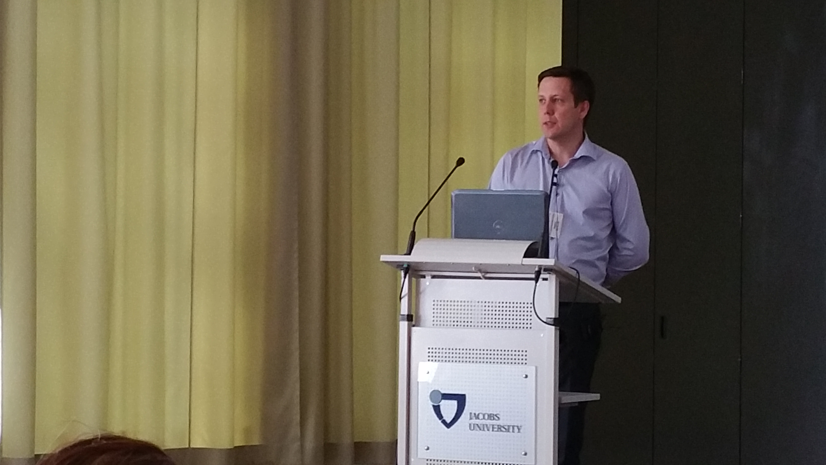 Magnus Strandh (Adenium Biotech, Copenhagen, Denmark) - Clinical development of antimicrobial peptides -opportunities and challenges from a SME perspective